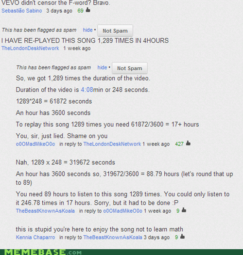 youtube,comments,math