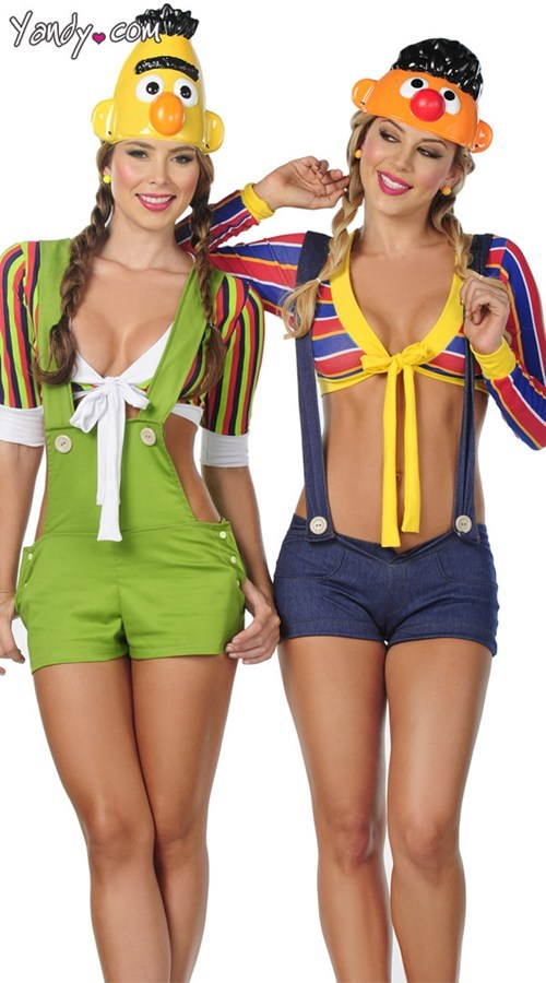 bert and ernie,sexy costumes,halloween costumes