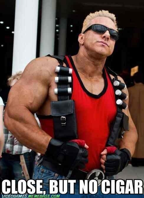 Duke Nukem cigar cosplay - 6659118592