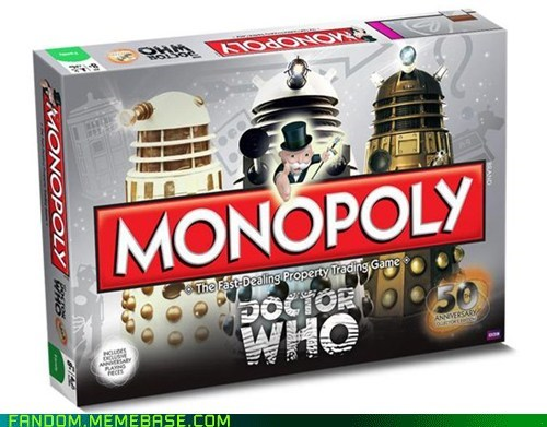 doctor who monopoly board games - 6659132416