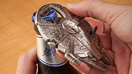 sloshed swag,bottle opener,star wars,gizmodo