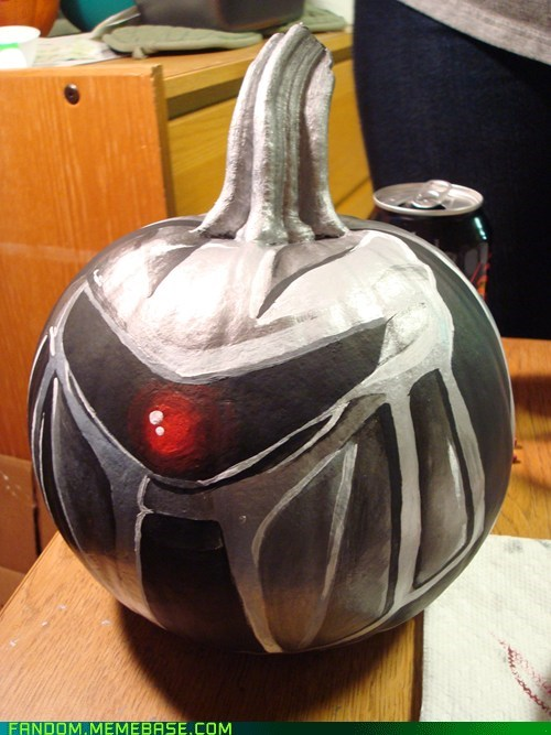 Battlestar Galactica,cylon,BSG,jack o lanterns,halloween,fandombase
