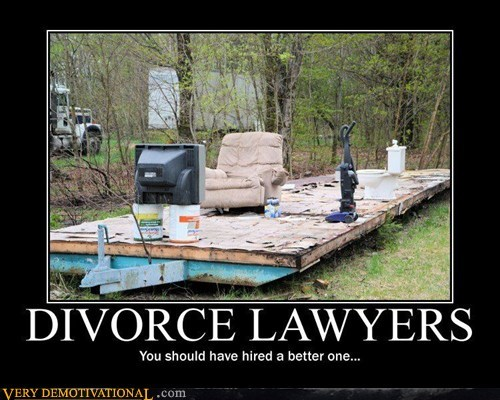 divorce lawyer she took everything