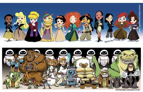 wall.e ratatouille disney crossover monsters inc doctor who disney princesses star wars up brave cars sci fi categoryvoting-page categorysci-fi categoryuncategorized - 6659358976