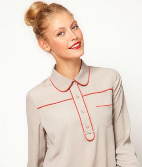 phallic blouse - 6659393536