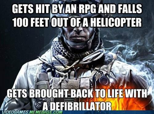 Battlefield 3 defibrillator RPG - 6659803392