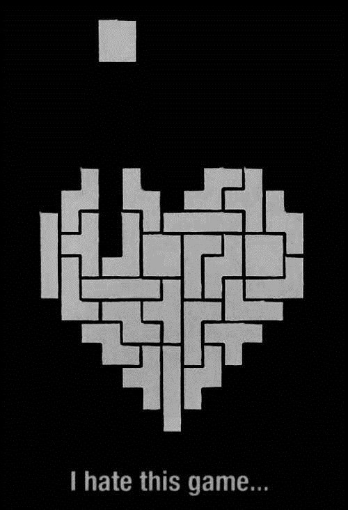 love,tetris,forever alone