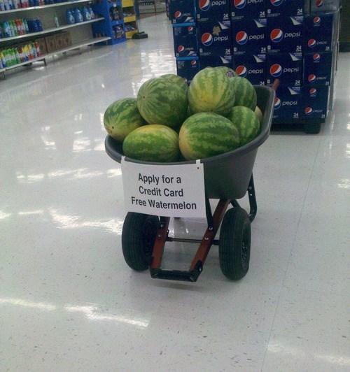 watermelon incentive credit card store - 6660029184
