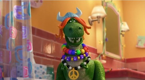 toy story,partysaurus rex,pixar,toon,short,t rex,rave,categoryuncategorized