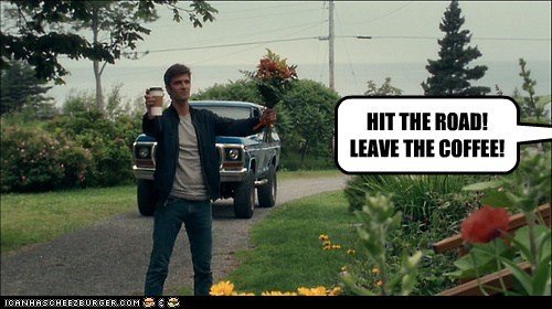 lucas bryant,haven,hit the road,flowers,coffee,nathan wuornos