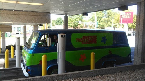 van,scooby doo,cartoons,mystery machine