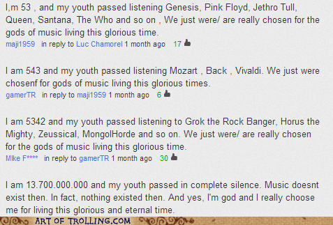 youtube Music comments - 6660812544