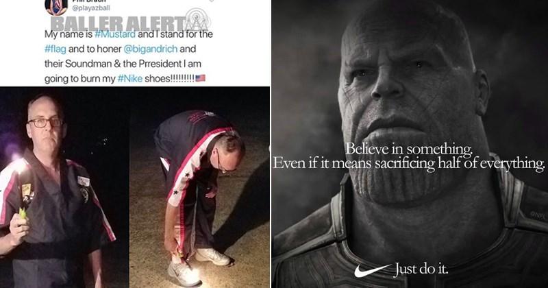 nike ad memes