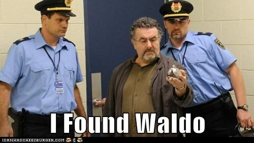 artie nielsen,saul rubinek,warehouse 13,wheres waldo,artifact