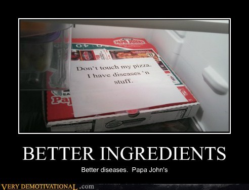 Ad papa johns ingredients diseases - 6661164288