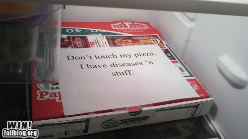 dinner Office pizza defense clever - 6661169152