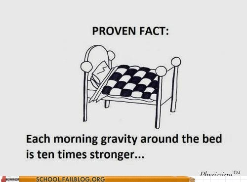 cant-deny-it,Gravity,waking up,bed time