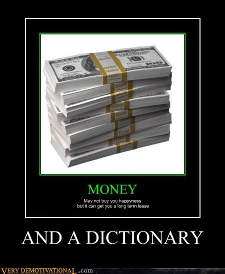 money grammar dictionary