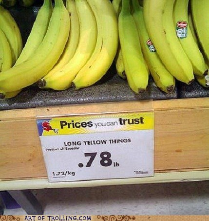 banana sign IRL wtf - 6661628160