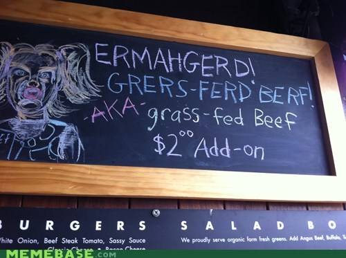 Ermahgerd drawing burgers menu restaurant - 6661949696