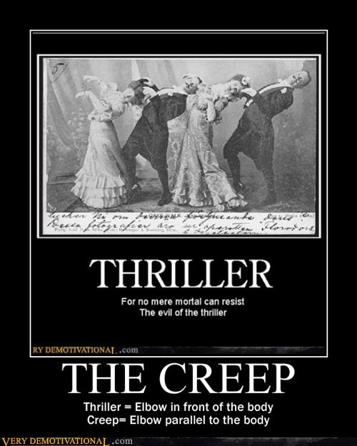 creepy,thriller,dancing,old timey