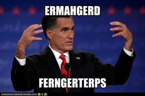 Ermahgerd Mitt Romney pointing derp - 6662193920