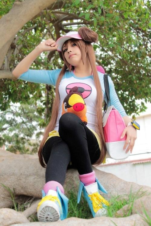 cosplay rosa Pokémon - 6662318848