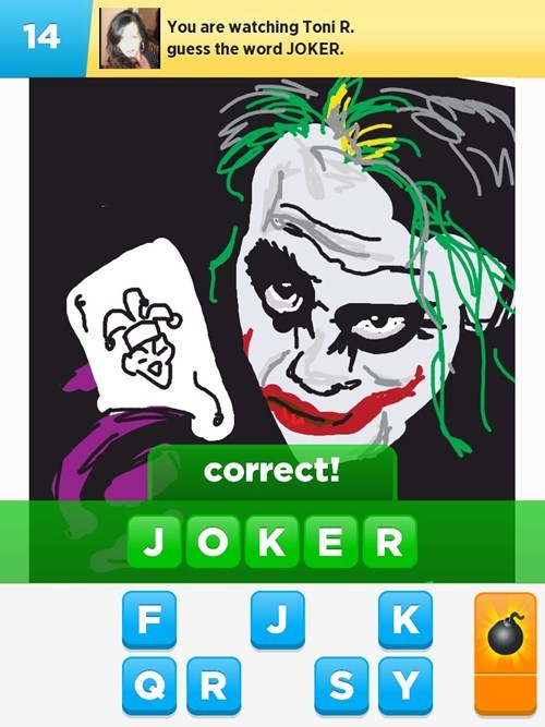 the joker,draw something,WHY SO SERIOUS