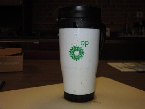 bp coffee mug leaky mug leak
