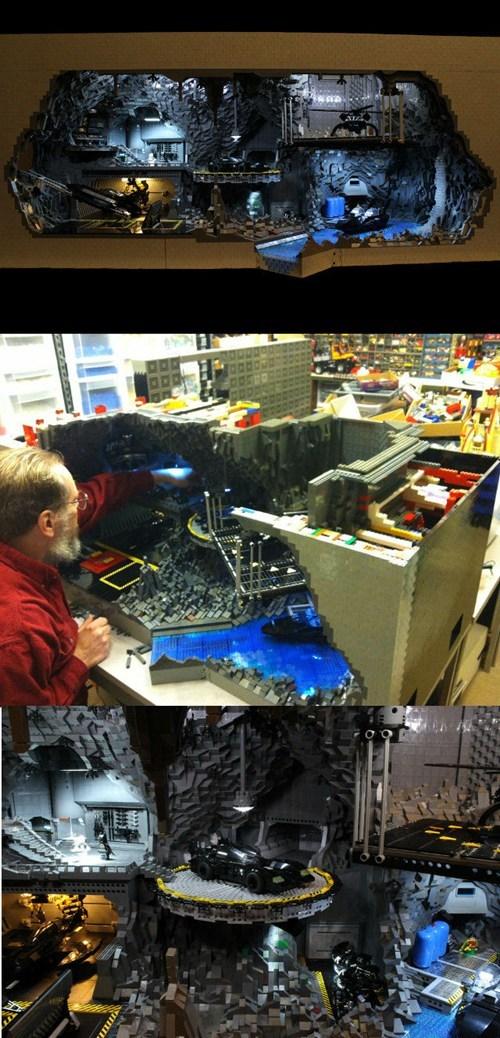 lego batman batcave - 6662712064