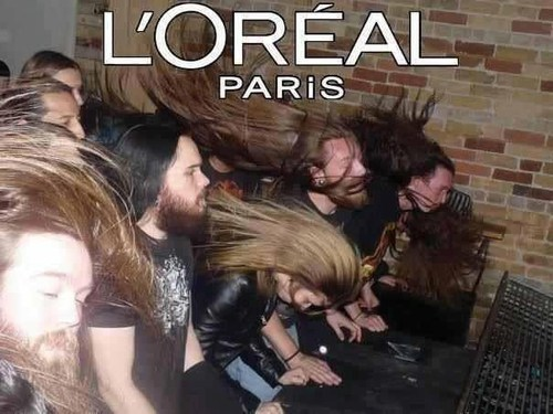 loreal paris,headbangers,hair