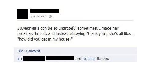 facebook girls ungrateful break in - 6662788864