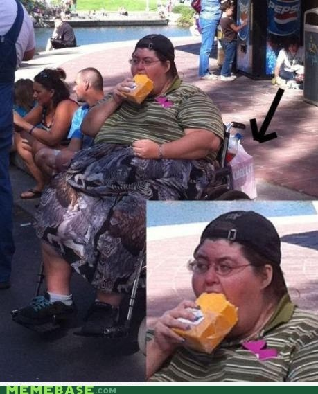 cheese puns people blocks what wheelchair this looks delicious - 6662887936