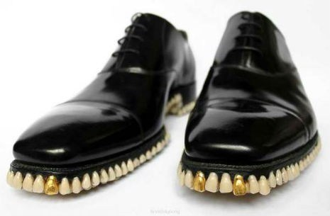 shoes teeth