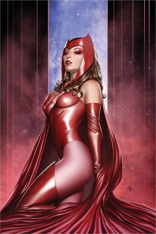 scarlet witch art awesome - 6663128832