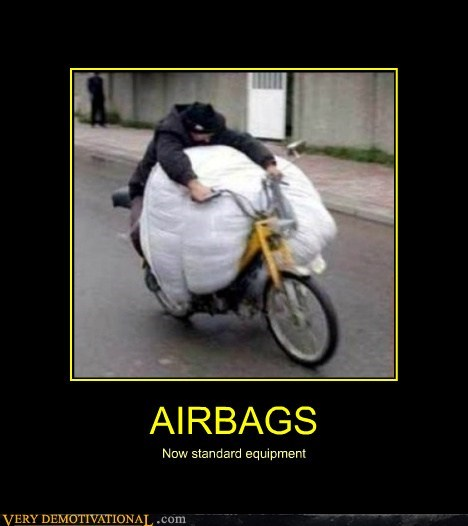 AIRBAGS Now standard equipment