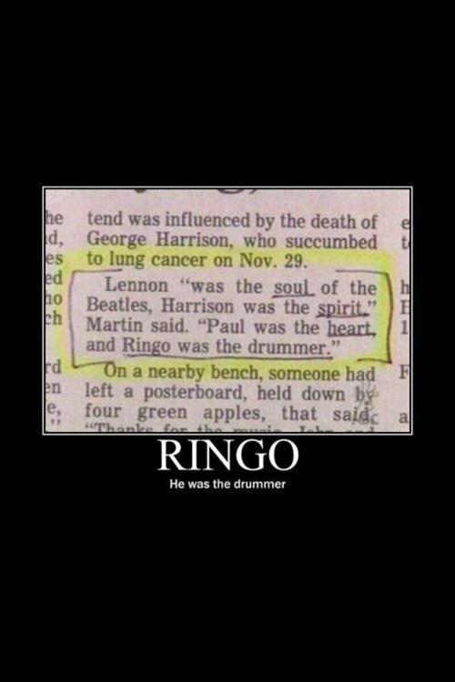ringo starr the Beatles - 6663373824