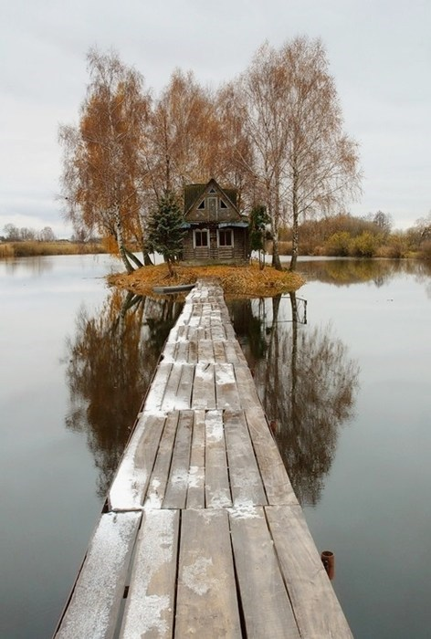 cabin,lonely,bridge,home,design,best of week,Hall of Fame