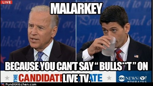 joe biden,paul ryan,malarkey,live tv,censorship