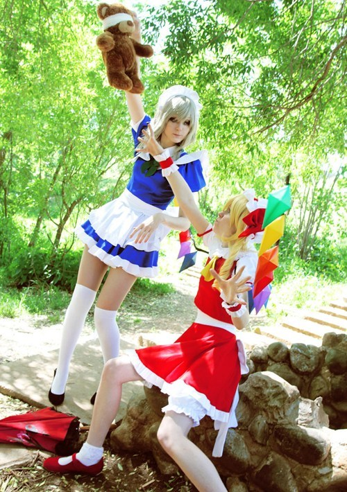 touhou project cosplay Sakuya Izayoi - 6663766272