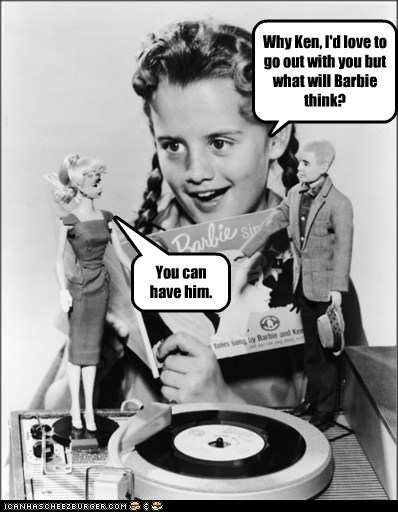 kid,Barbie,record,ken,girl