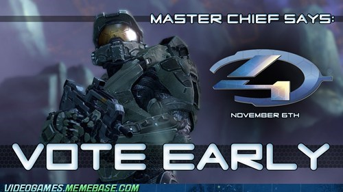 vote Halo 4 vote early video games - 6664271104