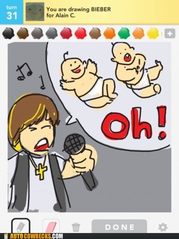 not wrong,justin bieber,draw something