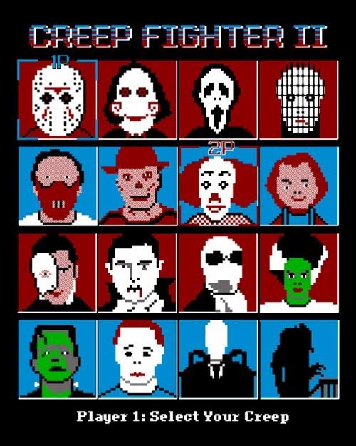 creeps Street fighter halloween monster - 6664496128