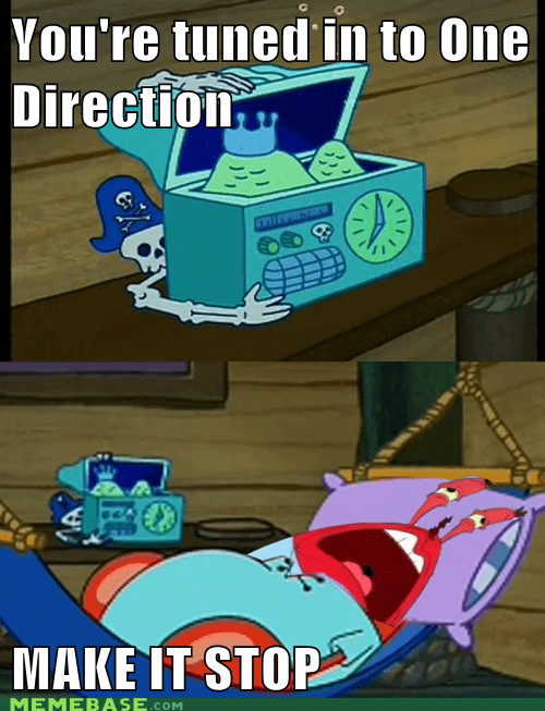 krusty krab one direction Music TV - 6664560896