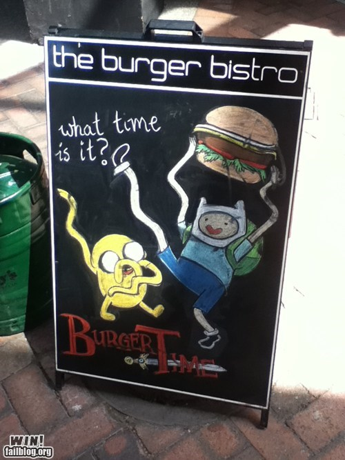 adventure time restaurant food cartoons bistro burger - 6664774144