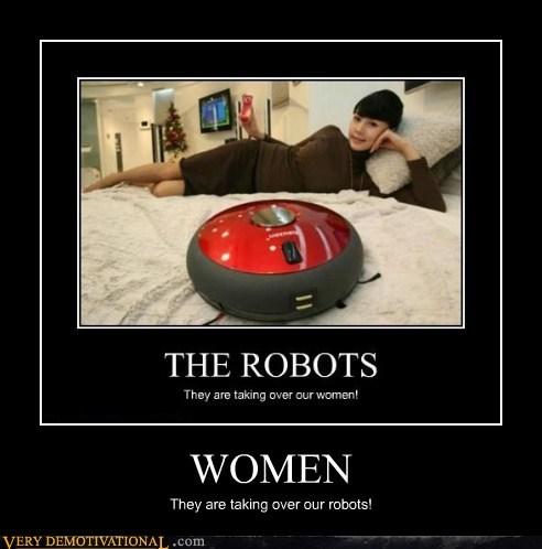 women stealing robots - 6664852480