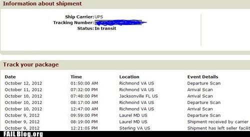 shipping mistake usps postal service - 6664908544