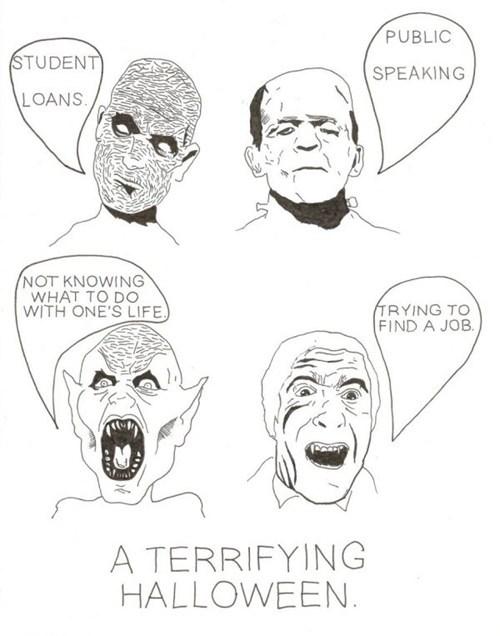 stop Terrifying halloween student loans - 6665566720