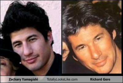 funny TLL actor celeb zachary yamagishi richard gere